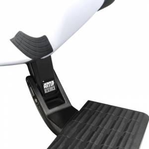 AMP Research 75300-01A BedStep Flip Down Bumper Step for GMC Sierra 1500 2007-2013