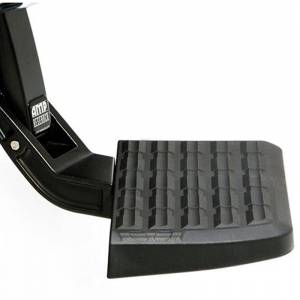 AMP Research BedStep - Chevy BedStep - AMP Research - AMP Research 75301-01A BedStep Flip Down Bumper Step for Chevy Silverado 1500 HD/2500 HD 2001-2006