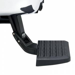 AMP Research 75303-01A BedStep Flip Down Bumper Step for Ford F250 1999-2016