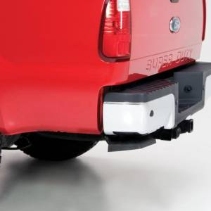 AMP Research - AMP Research 75303-01A BedStep Flip Down Bumper Step for Ford F250 1999-2016 - Image 2