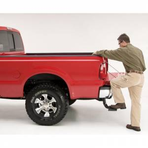 AMP Research - AMP Research 75303-01A BedStep Flip Down Bumper Step for Ford F250 1999-2016 - Image 4