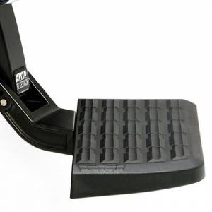 AMP Research - AMP Research 75306-01A BedStep Flip Down Bumper Step for Dodge Ram 1500 2009-2018
