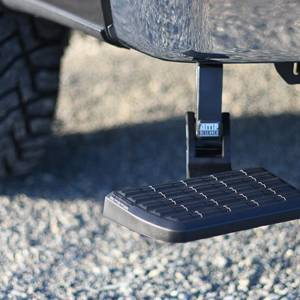 AMP Research - AMP Research 75306-01A BedStep Flip Down Bumper Step for Dodge Ram 2500/3500 2010-2018 - Image 3