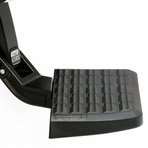 AMP Research - AMP Research 75308-01A BedStep Flip Down Bumper Step for GMC Sierra 2500 HD/3500 HD 2011-2014