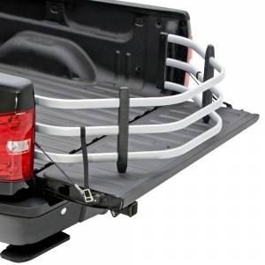 AMP Research - AMP Research 74802-00A BedXtender HD Sport Truck Bed Extender for GMC Canyon 2004-2012 - Silver - Image 2