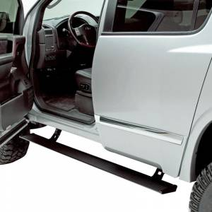 Exterior Accessories - Running Boards and Nerf Bars - AMP Research - AMP Research 75110-01A PowerStep Electric Running Board for Nissan Titan 2004-2015