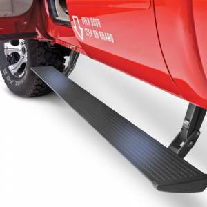 Exterior Accessories - Running Boards and Nerf Bars - AMP Research - AMP Research 76235-01A PowerStep Plug and Play Running Board for Ford F250/F350/F450 2017-2019