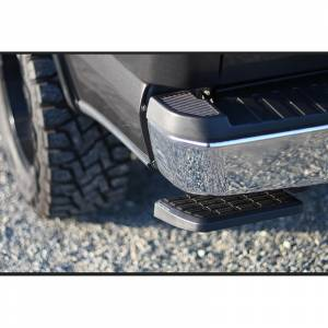 AMP Research - AMP Research 75300-01A BedStep Flip Down Bumper Step for GMC Sierra 2500 HD/3500 HD 2007-2010 - Image 4