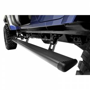 Exterior Accessories - Running Boards and Nerf Bars - AMP Research - AMP Research 75132-01A PowerStep Electric Running Board for Jeep Wrangler JL 2018-2020