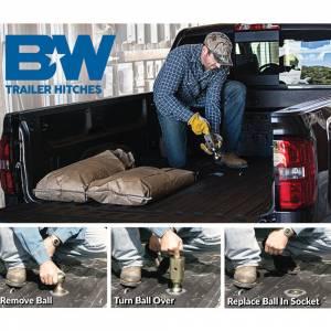 B&W - B&W GNRK1062 Turnoverball Gooseneck Hitch Kit for Chevy Silverado and GMC Sierra 3500 2001-2007 - Image 3