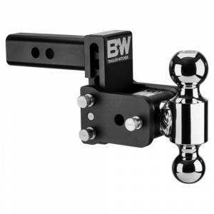 """B&W Trailer Hitches and Accessories - B&W Tow and Stow Hitches - B&W - B&W TS10035B Tow and Stow Hitch for 2"""" Receiver - Black"""