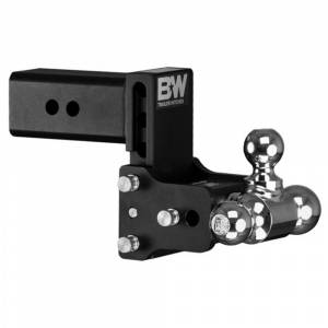 """B&W Trailer Hitches and Accessories - B&W Tow and Stow Hitches - B&W - B&W TS30048B Tow and Stow Hitch for 3"""" Receiver - Black"""