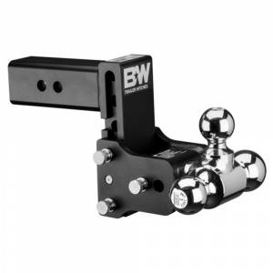 """B&W Trailer Hitches and Accessories - B&W Tow and Stow Hitches - B&W - B&W TS20048B Tow and Stow Hitch for 2.5"""" Receiver - Black"""