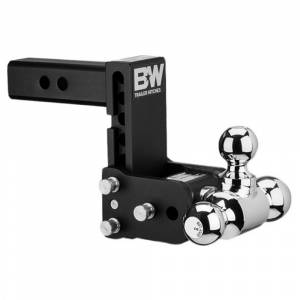 """B&W Trailer Hitches and Accessories - B&W Tow and Stow Hitches - B&W - B&W TS10048B Tow and Stow Hitch for 2"""" Receiver - Black"""