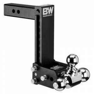 """B&W Trailer Hitches and Accessories - B&W Tow and Stow Hitches - B&W - B&W TS10050B Tow and Stow Hitch for 2"""" Receiver - Black"""