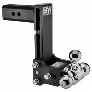 """B&W Trailer Hitches and Accessories - B&W Tow and Stow Hitches - B&W - B&W TS20050B Tow and Stow Hitch for 2.5"""" Receiver - Black"""