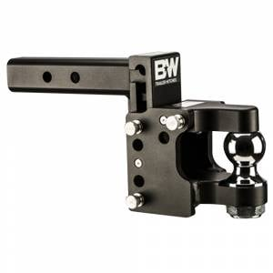 """B&W Trailer Hitches and Accessories - B&W Tow and Stow Hitches - B&W - B&W TS10056 Tow and Stow Pintle Hitch for 2"""" Receiver - Black"""