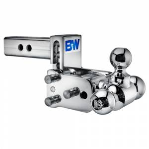 """B&W Trailer Hitches and Accessories - B&W Tow and Stow Hitches - B&W - B&W TS10047C Tow and Stow Hitch for 2"""" Receiver - Chrome"""