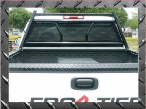 Frontier Gear - Frontier 500-10-4001 Diamond Series Headache Rack Toyota Tundra Crew Cab Full Punch Plate 2007-2018