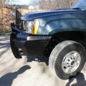 Frontier Gear - Frontier Gear 600-31-1005 Xtreme Front Bumper for GMC Sierra 2500 HD/3500 HD 2011-2014 - Image 6