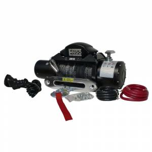 Exterior Accessories - Winches - ENGO - ENGO 97-10000S SR-Series Electric Winch with Synthetic Rope