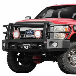 ARB 4x4 Accessories - ARB 2236010 Deluxe Modular Winch Front Bumper Kit for Ford F250/F350 2011-2016