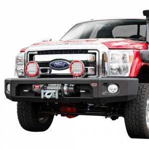 ARB 4x4 Accessories - ARB 2236030 Modular Winch Front Bumper Kit for Ford F250/F350 2011-2016