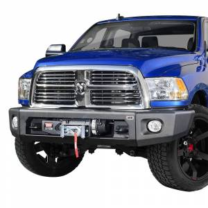 ARB 4x4 Accessories - ARB 2237030 Modular Winch Front Bumper Kit for Dodge Ram 2500/3500 2010-2018