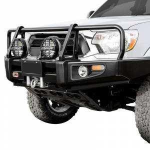 Shop Bumpers By Vehicle - Toyota 4Runner - ARB 4x4 Accessories - ARB 3414090 Deluxe Winch Front Bumper with Bull Bar for Toyota Pickup 1984-1985