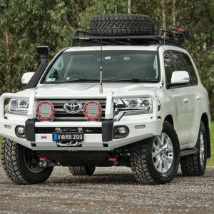 Shop Bumpers By Vehicle - Toyota Land Cruiser - ARB 4x4 Accessories - ARB 3415250 Summit Winch Front Bumper for Toyota Land Cruiser 2016-2018