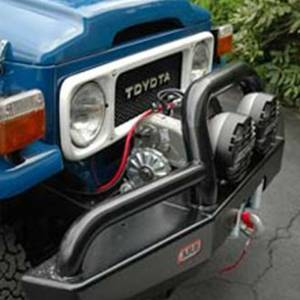 Shop Bumpers By Vehicle - Toyota Land Cruiser - ARB 4x4 Accessories - ARB 3420020 Deluxe Winch Front Bumper with Bull Bar for Toyota Land Cruiser 1969-1983