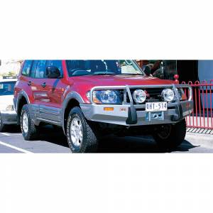 Shop Bumpers By Vehicle - Mitsubishi Montero - ARB 4x4 Accessories - ARB 3434050 Deluxe Winch Front Bumper for Mitsubishi Montero 2000-2004