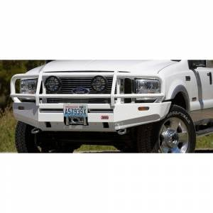 ARB 4x4 Accessories - ARB 3436030 Deluxe Winch Front Bumper for Ford F250/F350/F450 1999-2004