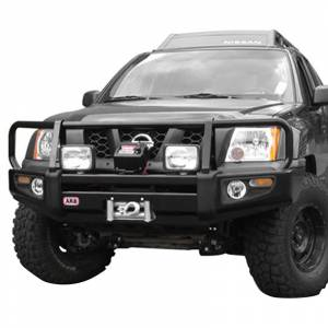 Shop Bumpers By Vehicle - Nissan Xterra - ARB 4x4 Accessories - ARB 3438270 Deluxe Winch Front Bumper for Nissan Xterra 2005-2010