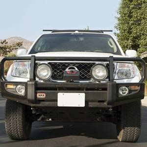 Shop Bumpers By Vehicle - Nissan Pathfinder - ARB 4x4 Accessories - ARB 3438290 Deluxe Winch Front Bumper for Nissan Pathfinder 2008-2009
