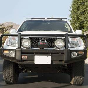 Shop Bumpers By Vehicle - Nissan Xterra - ARB 4x4 Accessories - ARB 3438320 Deluxe Winch Front Bumper for Nissan Frontier 2009-2010