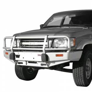 Shop Bumpers By Vehicle - Isuzu Trooper - ARB 4x4 Accessories - ARB 3444070 Deluxe Winch Front Bumper for Isuzu Trooper 1998-2002