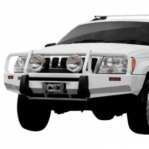 Shop Bumpers By Vehicle - Jeep Grand Cherokee - ARB 4x4 Accessories - ARB 3450100 Deluxe Winch Front Bumper for Jeep Grand Cherokee 1999-2004