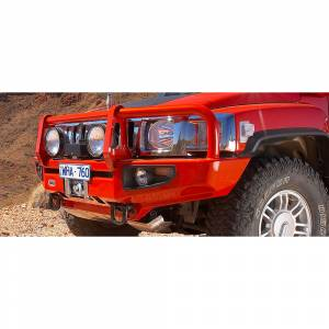 Shop Bumpers By Vehicle - Hummer - ARB 4x4 Accessories - ARB 3468010 Deluxe Winch Front Bumper with Flares for Hummer H3 2005-2009