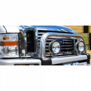 ARB 4x4 Accessories - ARB 3936150 Winch Front Bumper with Sahara Bar for Ford F250/F350 2008-2010
