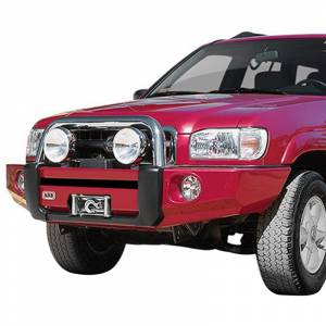 Shop Bumpers By Vehicle - Nissan Pathfinder - ARB 4x4 Accessories - ARB 3938040 Winch Front Bumper with Sahara Bar for Nissan Pathfinder 2000-2002