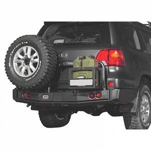 Shop Bumpers By Vehicle - Toyota Land Cruiser - ARB 4x4 Accessories - ARB 5615010 Rear Bumper for Toyota Land Cruiser 2008-2015