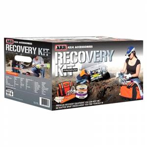 Exterior Accessories - Recovery Tow Ropes and Winch Lines - ARB 4x4 Accessories - ARB RK9 Premium Recovery Kit