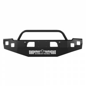 Ranch Hand - Ranch Hand BHD101BMT Horizon Front Bumper with Push Bar for Dodge Ram 2500/3500 2010-2018