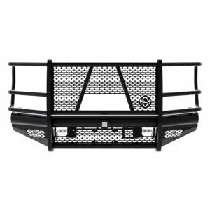 Ranch Hand - Ranch Hand FBF201BLRC Legend Front Bumper with Camera for Ford F250/F350/F450/F550 2017-2020