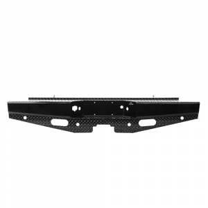 Chevy - Chevy 1500 - Ranch Hand - Ranch Hand SBC08HBLSL Sport Rear Bumper with Lights and Sensor Holes for Chevy Silverado 1500 2007-2013