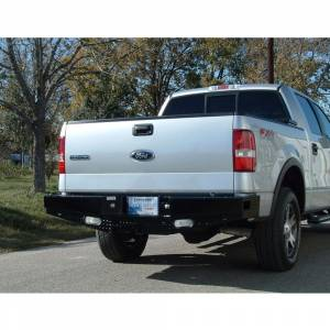 Ranch Hand - Ranch Hand SBF06HBLSL Sport Rear Bumper with Lights and Sensor Holes for Ford F150 2006-2008 - Image 5