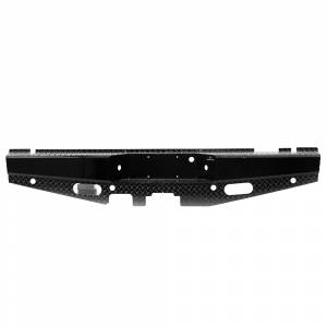 Ford F250/F350 Super Duty - Ford Superduty 2008-2010 - Ranch Hand - Ranch Hand SBF081BLSL Sport Rear Bumper with Lights and Sensor Holes for Ford F250/F350 2008-2015
