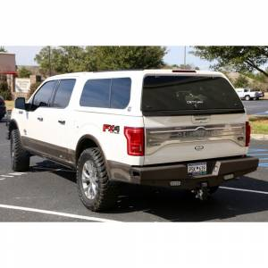 Ranch Hand - Ranch Hand SBF15HBLSL Sport Rear Bumper with Lights and Sensor Holes for Ford F150 2015-2020 - Image 3