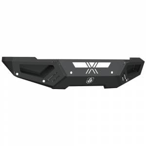 Road Armor Spartan - Front Bumpers - Road Armor - Road Armor 4162XF0B Spartan Non-Winch Front Bumper with Sensor Holes for Dodge Ram 2500/3500 2016-2019
